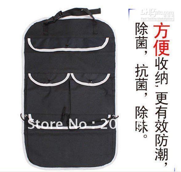 Wholesale New fashion folding car hang storage bag Multi Function Bag car storage bag car back seat pocket