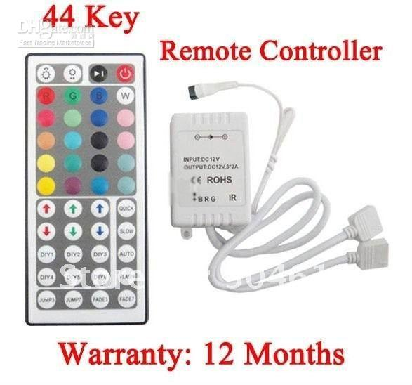 Wholesale Key IR Remote Controller For RGB SMD LED Light