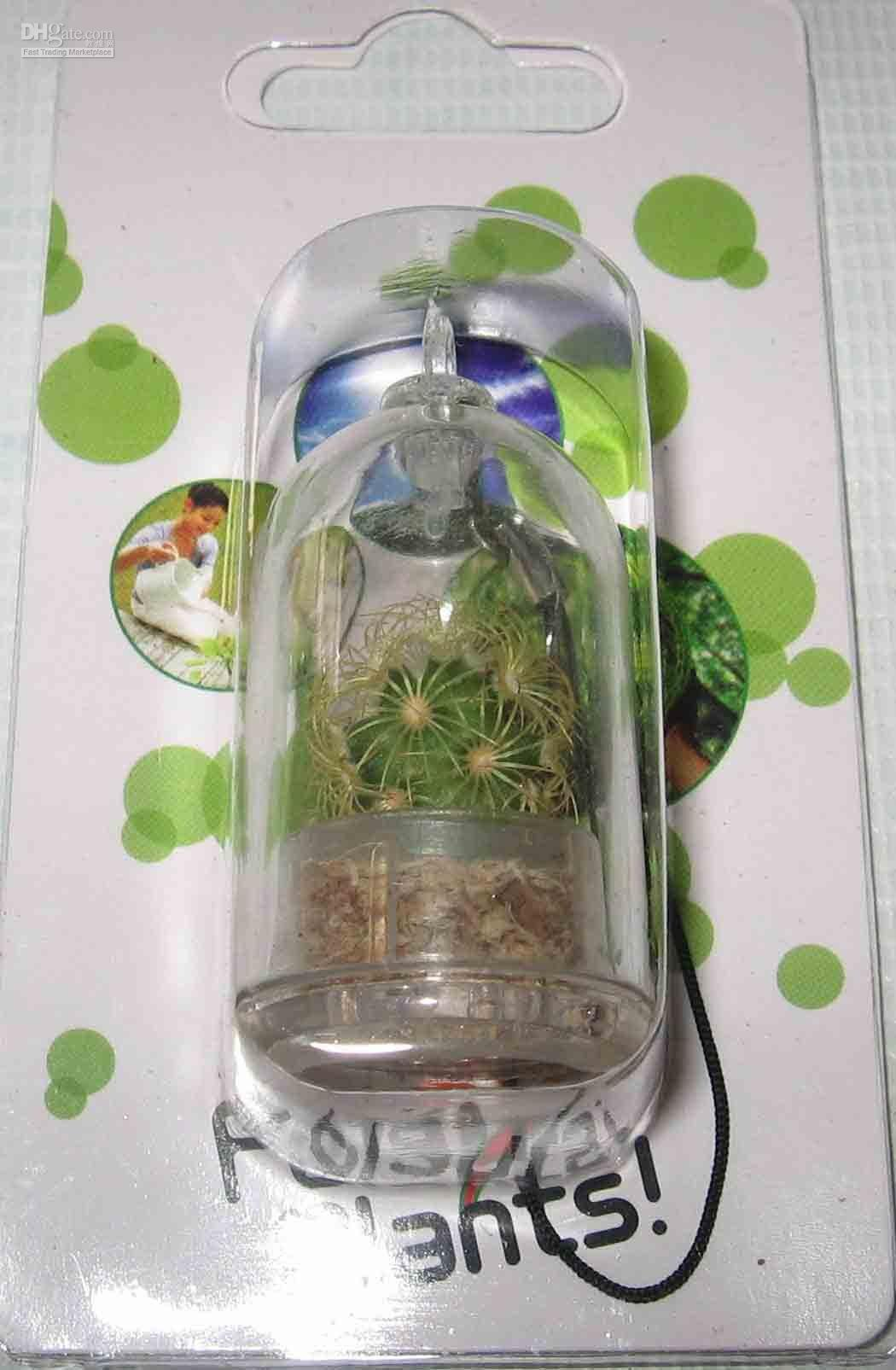 Wholesale Hot selling X pet plant PET TREES Plant selection Mobile Phone Charm cell phone straps keyring