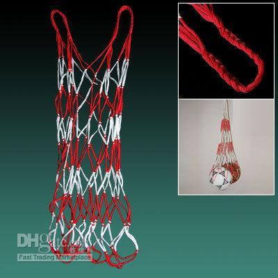 Wholesale Reticular Cord Sporting Basketball soccer ball volleyball net bag Mesh net Bag new