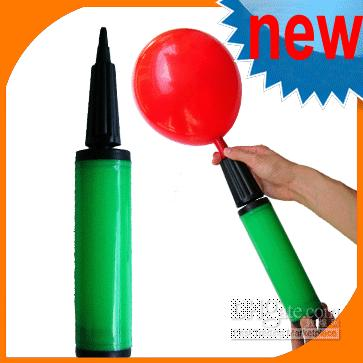 animal fair - Green BALLOON PUMP Carnival Fun Fair Animal Party Kids