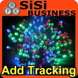 11m 60 LED Solar String Fairy Lights Garden Party Xmas