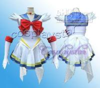 Wholesale uper Sailor Moon Cosplay Costume Serena Gloves amp Tiara