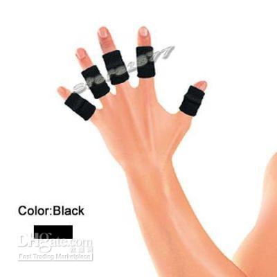 Wholesale 10pcs Finger sleeve Support for badminton tennis basketball volleyball new