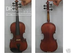 Wholesale 4 five strings electric violin hand carved fine tone