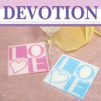 Wholesale 30sets LOVE acrylic coaster gift wedding favours