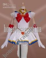 Wholesale Sailor Moon Cosplay Costume White Dress Sakura Chobit G