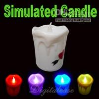 Wholesale Electrical Candle Lamp Light Christmas Decoration Gift