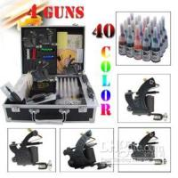 Wholesale Tattoo Kit Machine Gun Color Ink Set Equipment M