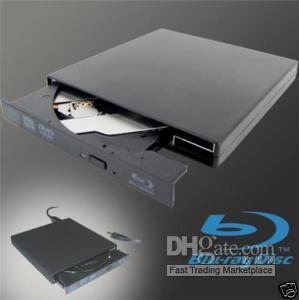 Wholesale External Blu Ray Burner Slim BLUE BLU RAY DISC PLAYER P EMS Free