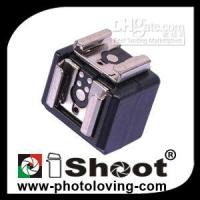 Wholesale Studio Flash Trigger mm PC to Double Hotshoe Adapter