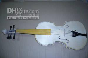 Wholesale 5string Nice baroque violin unvarnished