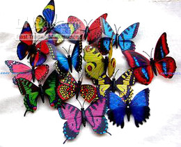 new arrival hot sell fashion 100pc Artificial Butterfly for Wedding Decorations
