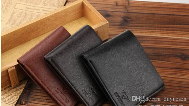 2015 Hot-selling! Crazy Mens Wallets Polo Wallet For Men Designer Brand Purse Small Man Wallet Mens Coin Purse