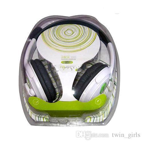 S5Q Deluxe Stereo Headphone Headset Earphone Microphone Mic For XBOX 360 Live AAAAMC