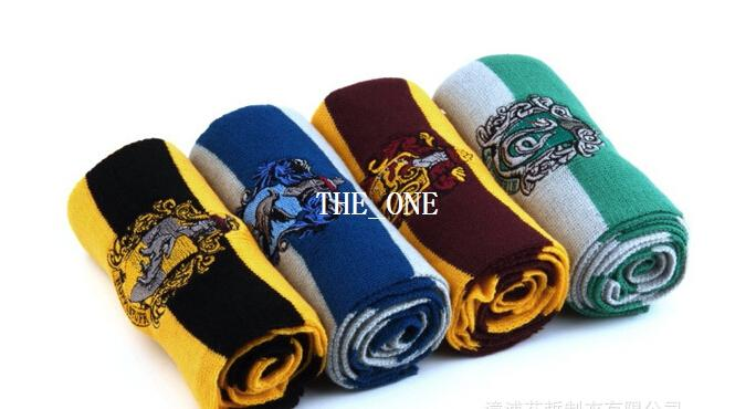 harry potter scarves movie fans favorite School Scarf striped scarf harry potter gryffindor scarf Cosplay Costume Christmas Gift in stock