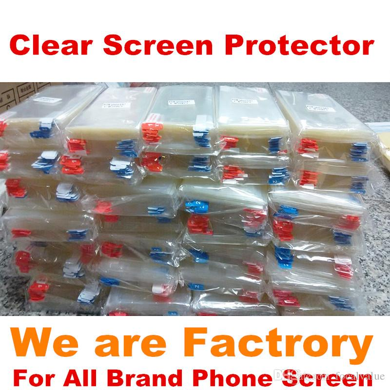 3200pcs LCD Screen Protector Protectors Cell Phone Cover Film For iPhone 6S 5 5S 5C 6 6plus Samsung Galaxy S6 S5 S4 S3 S2 NOTE 5 4 3 Huawei