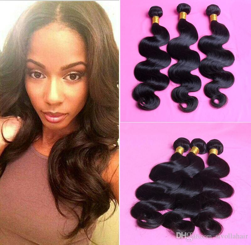 Mink Brazilian Hair 3/4/5 Bundles Body Wave Peruvian Malaysian Indian Human Hair Weave Unprocessed Cheap Human Hair Extensions Free Shipping