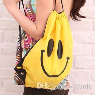 Smile Beam port package Swimwear Bag for shopping Travel pouch Swim Smile bag For Bath towel Swimwear Goggles Free DHL FEDEX