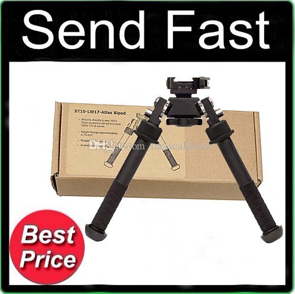 2017 New BT10-LW17 V8 Atlas 360 degrees Adjustable Precision Bipod QD Mount For Rifle Hunting Mount