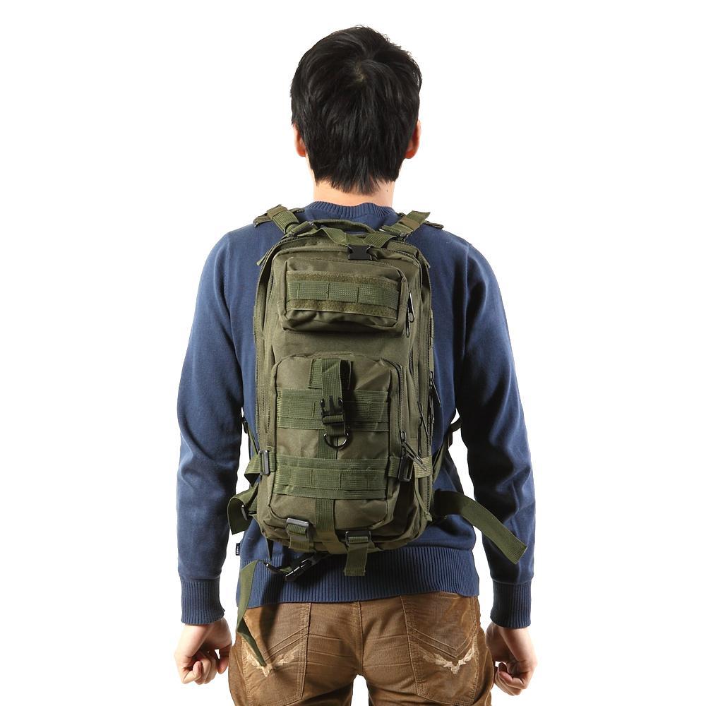Hot Selling! 25L Tactical Backpack Rucksacks Sport Camping Molle Trekking Bag 600D Shoulder Bag Outdoor Bags