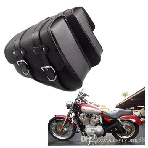 Free shipping Motorcycle Bag For Harley XL883 XL1200 sportster Series Sport car side package, motocicleta knight bag