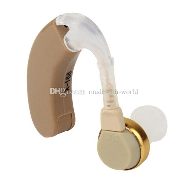 Free Shipping Tone Hearing Aids Aid Behind The Ear Sound Amplifier Sound Adjustable Kit Y3006A