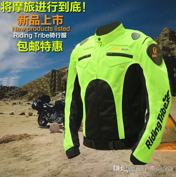 Riding Tribe Motorcycle Rider jersey jacket DROP motorized brigade men Rally racing suits motorcycle clothing fluorescent reflective vests