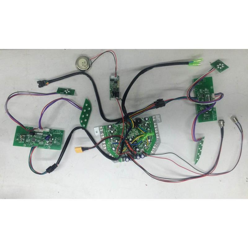 Motherboard Controller Board for Smart Self Balancing Scooter Accessories Replacement Hoverboard Mainboard Sideboard Mainboard +Bluetooth
