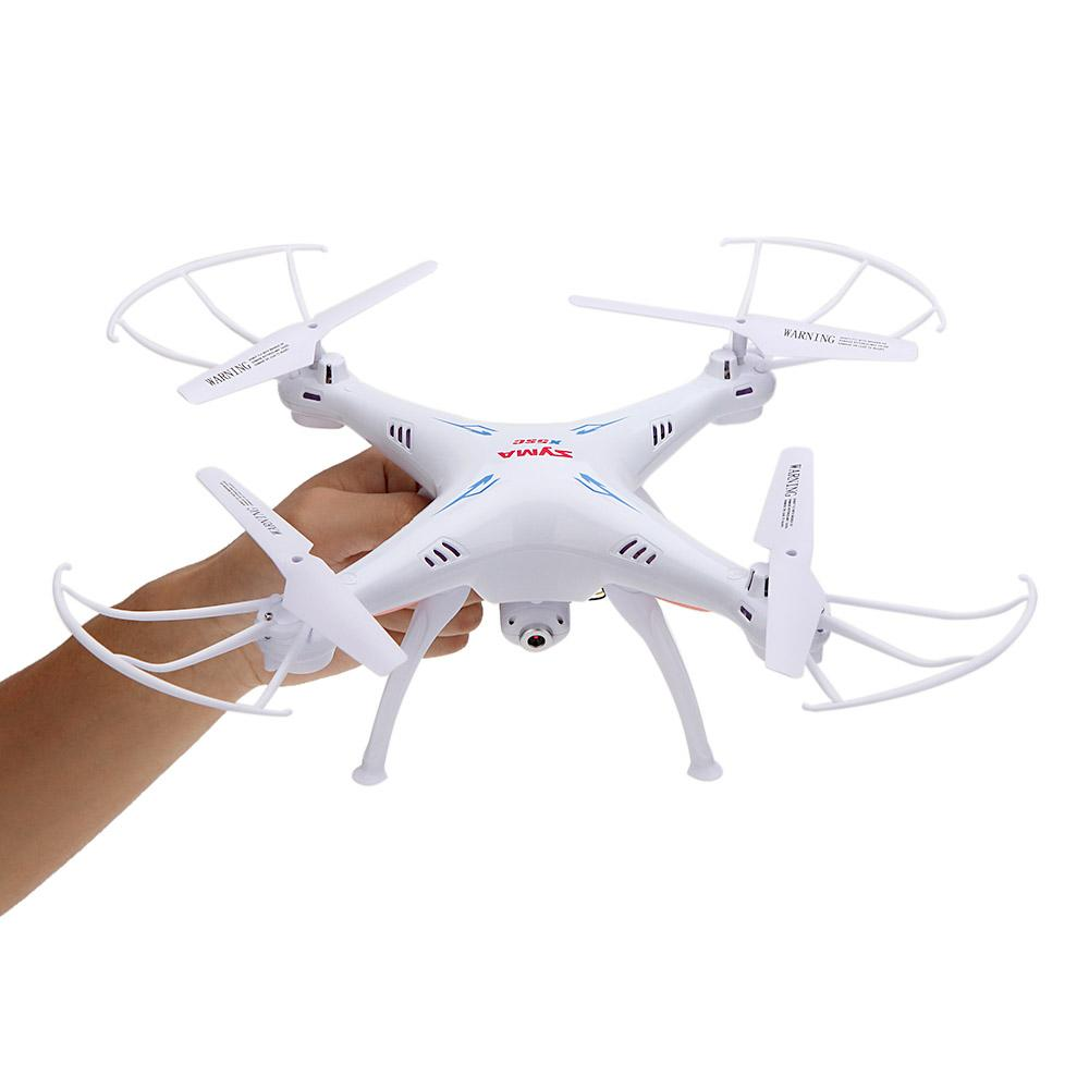 Original SYMA X5SC 2.4G 4CH 6-Axis Gyro RC Quadrocopter RTF Drone with HD 2.0MP Camera Headless Mode and 3D Eversion RM2501
