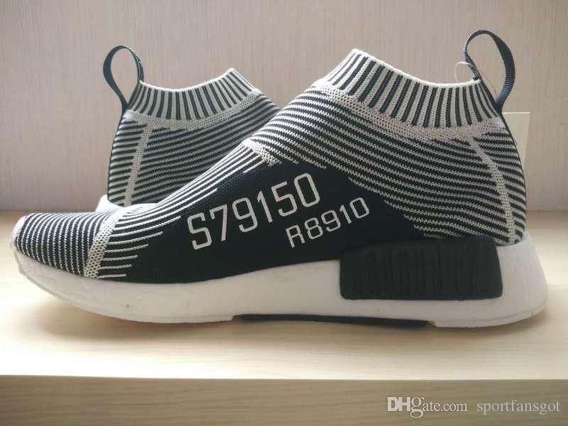 Hot! new 2016 1:1 Runner S79150 MID CITY SOCK running shoes Primeknit NMD Ultra Runner Primeknit R1 Shoes Ultra boost