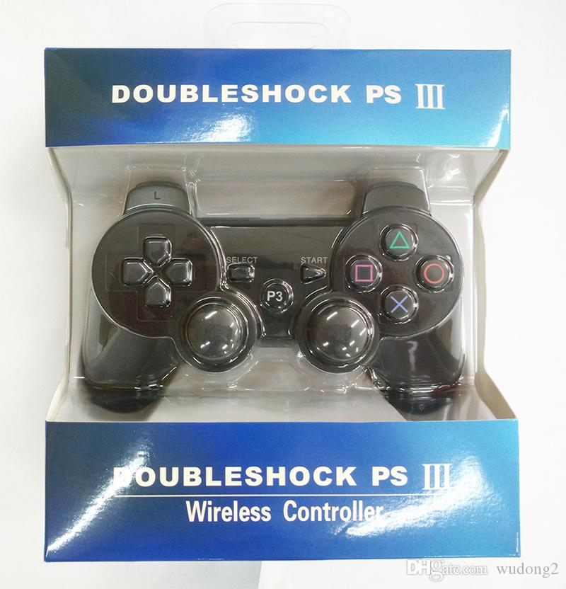 With retail box For PlayStation 3 PS3 Wireless Bluetooth Game Controller Gamepad