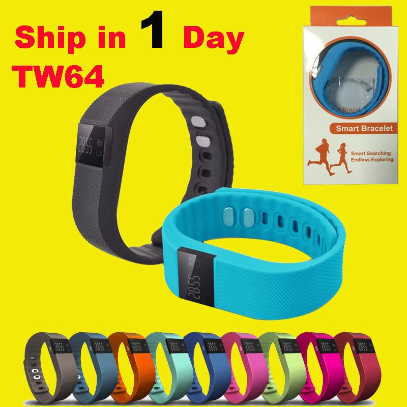 TW64 Smart Bracelet Bluetooth Smart Wristbands smart watch Waterproof & Passometer & Sleep Tracker Function for android ios pk fitbit OTH048