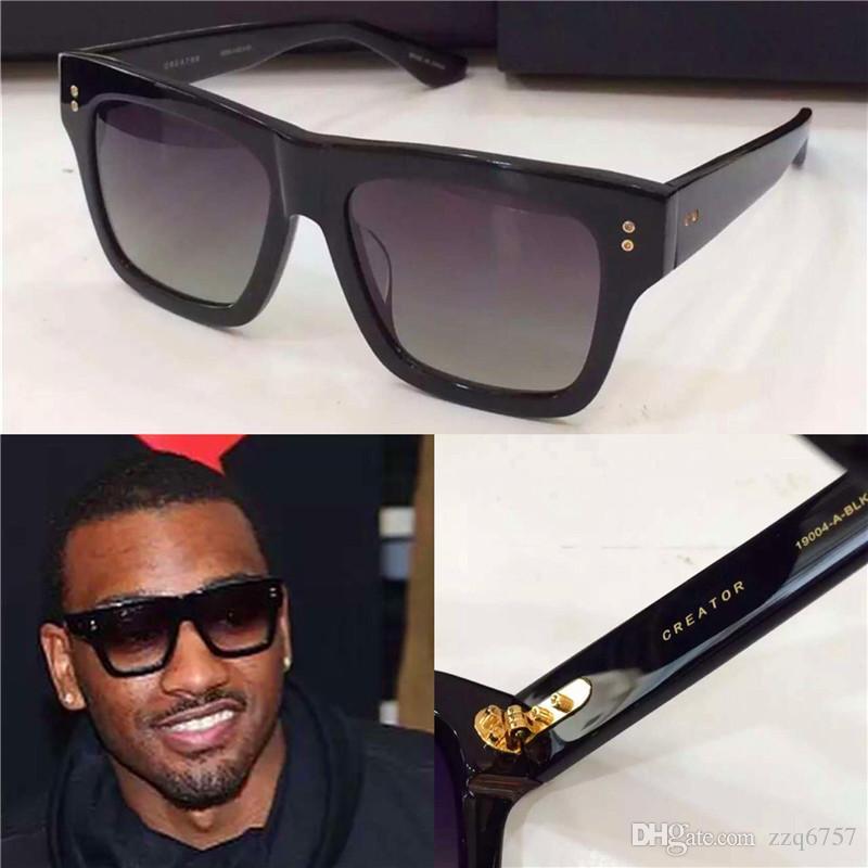 Dita sunglasses new dita Creator sunglasses brand designer men brand designer sunglasses coatiing mirror lens vintage retro style