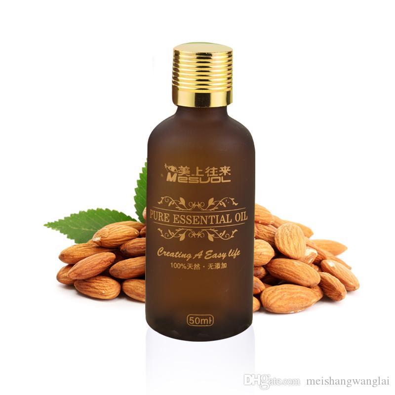 1 Pcs/lot Almond Sweet Base oil Pure Essential Oil Compound essential oil Moisturizing 50 ml