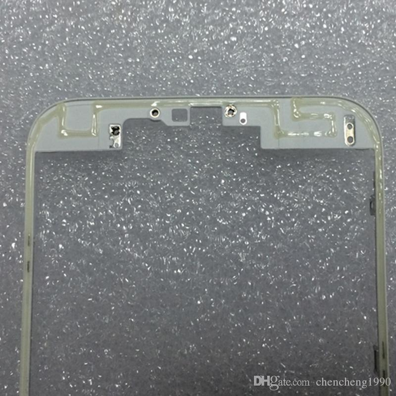 "For iphone 6s Front LCD Screen Digitizer Holder Middle Mid Bezel Frame Bracket with Hot Glue for iphone 6s Plus 4.7/5.5"" DHL Free 100pcs/lot"