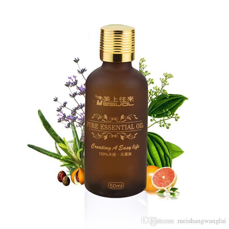 5 Pcs/lot Quick Impact Reduced Fat Pure Essential Oil Compound essential oil Moisturizing 50 ml