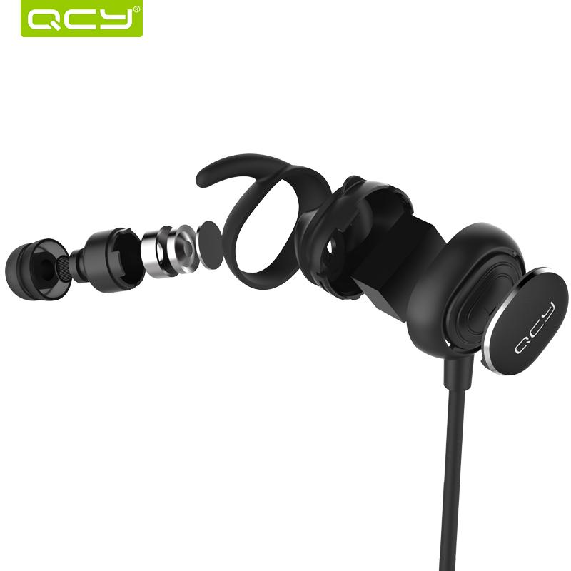 eadset foam QCY QY19 IPX4-rated sweatproof stereo bluetooth 4.1 headphones wireless sports earphones aptx headset with MIC for iphone 5s ...