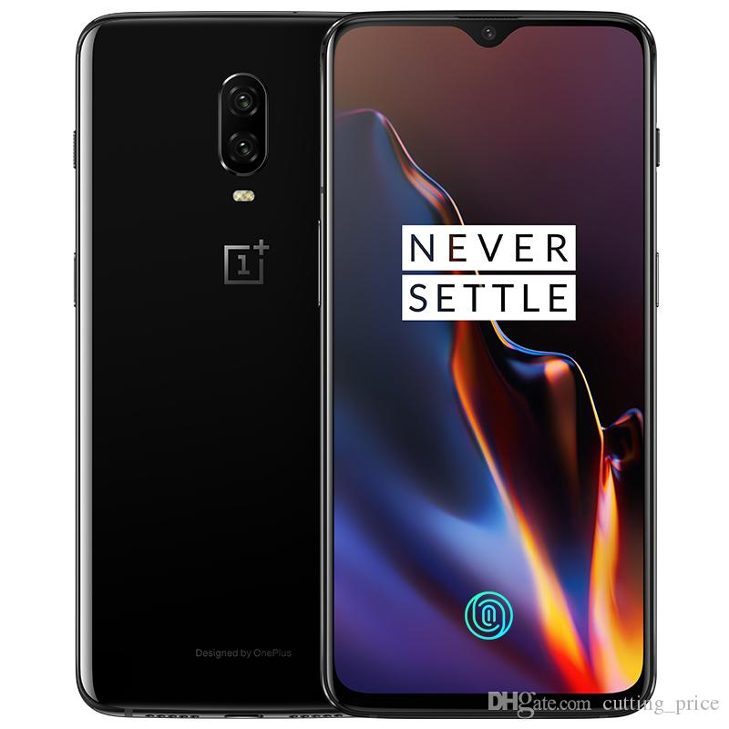 "New Original Oneplus 6T 4G LTE Mobile Phone 6GB RAM 128GB ROM Snapdragon 845 Octa Core 6.41"" Full Screen Fingerprint 20.0MP NFC Cell Phone"