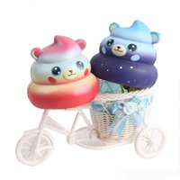 Cartoon Stool Shit Bear Squishy Cute 10cm Jumbo Slow Rising ...