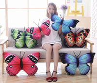 Butterfly Shape Cushion Butterfly Home Cushion Pillows Cover...