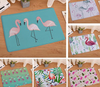 Flamingo Flannel Carpet Door Mats Entrance Door Flamingo Pri...
