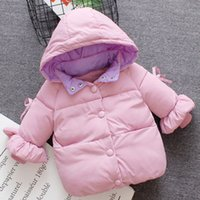Baby Girl Winter Clothes Hoodies 2018 Cute Baby Boy Girl Fas...