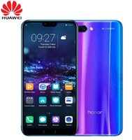 Original Huawei Honor 10 Android 8. 0 4G LTE Smartphone 3D Cu...