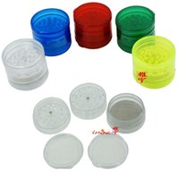 60pcs 5 parts tobacco grinder acrylic GRINDER 50*60 mm 53g 1...