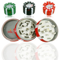 24pcs lot 3 parts tobacco grinder chip plastic GRINDER 42. 5*...