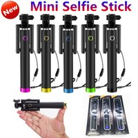 Monopod Selfie Stick Extendable Tripod Wired Selfie Stick Ha...