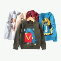 30 Styles 3- 8T Kids Cotton Long Sleeve Sweaters Pullover Cut...