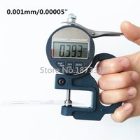 Wholesale- Thickness Gauge 0- 10mm Accuracy 0. 001mm 0. 00005&qu...
