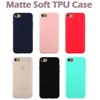 For iphone X 8 Ultra thin Matte Soft TPU Case Rubber Slim Si...